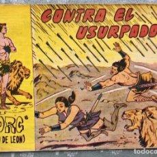 Tebeos: TORG HIJO DE LEON NUMERO 33. ORIGINAL. ED. ANDALUZA 1960. CONTRA EL USURPADOR. DIBUJANTE ROLDAN. Lote 165090694