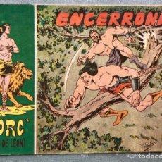 Tebeos: TORG HIJO DE LEON NUMERO 37. ORIGINAL. EDITORIAL ANDALUZA 1960. ENCERRONA. DIBUJANTE ROLDAN. Lote 165097990