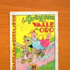 Tebeos: ANDANZAS DE QUITA Y PON - LA PRINCESA DEL VALLE DE ORO - EDITORIAL J. L. AGUILAR 1943 . Lote 165220358