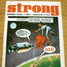 Tebeos: STRONG - NÚMERO 38. Lote 165257342