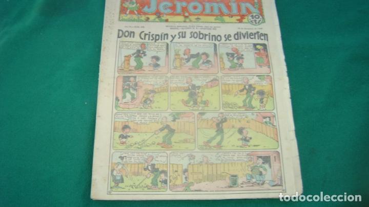 JEROMIN 345 19-12-1935 SOFA BIBLIOTECA (Tebeos y Comics - Tebeos Clásicos (Hasta 1.939))