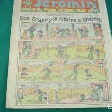 Tebeos: JEROMIN 345 19-12-1935 SOFA BIBLIOTECA. Lote 165271626