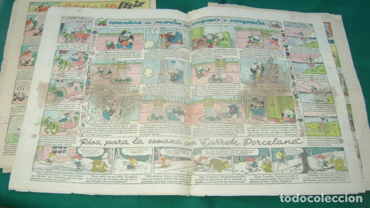 JEROMIN 353 13-12-1936 SOFA BIBLIOTECA (Tebeos y Comics - Tebeos Clásicos (Hasta 1.939))