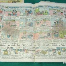 Tebeos: JEROMIN 353 13-12-1936 SOFA BIBLIOTECA. Lote 165271838