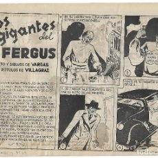 Tebeos: LOS GIGANTES DEL DR FERGUS - ORIGINAL. Lote 166014966