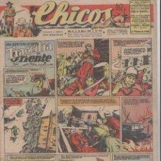 Tebeos: CHICOS. Nº 379. 31 MARZO 1946. SAN SEBASTIAN. Lote 166059178