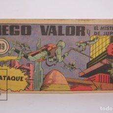 Tebeos: CÓMIC - DIEGO VALOR / EL ATAQUE Nº 119 - EDICIONES CID - AÑO 1956. Lote 166146270