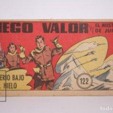 Tebeos: CÓMIC - DIEGO VALOR / MISTERIO BAJO EL HIELO Nº 122 - EDICIONES CID - AÑO 1956. Lote 166146373
