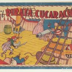 Tebeos: CAPERUCITA Nº 62. EL PIRATA CUCARACHO. BRUGUERA 1951. DIBUJOS DE ESCOBAR. DIFÍCIL. Lote 166513373