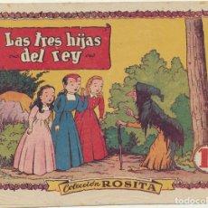 Tebeos: ROSITA Nº 18. LAS TRES HIJAS DEL REY. BRUGUERA 1951. DIBUJOS DE JORGE. Lote 166513393