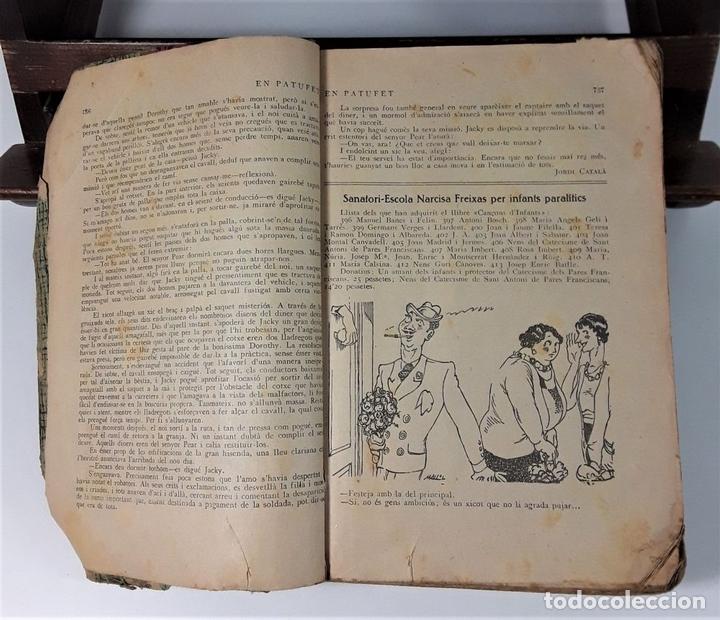 Tebeos: EN-PATUFET. J. M. FOLCH I TORRES. LLIB. JOSEP BALAGUÉ I JOSEP PI. BARCELONA. 1932. - Foto 8 - 166534690