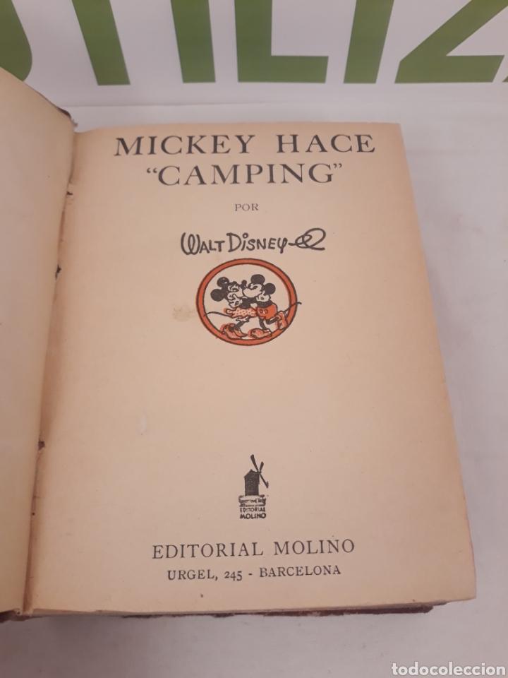 Tebeos: Mickey hace Camping/Mickey correo aereo.Primera edicion 1934. - Foto 2 - 166819405