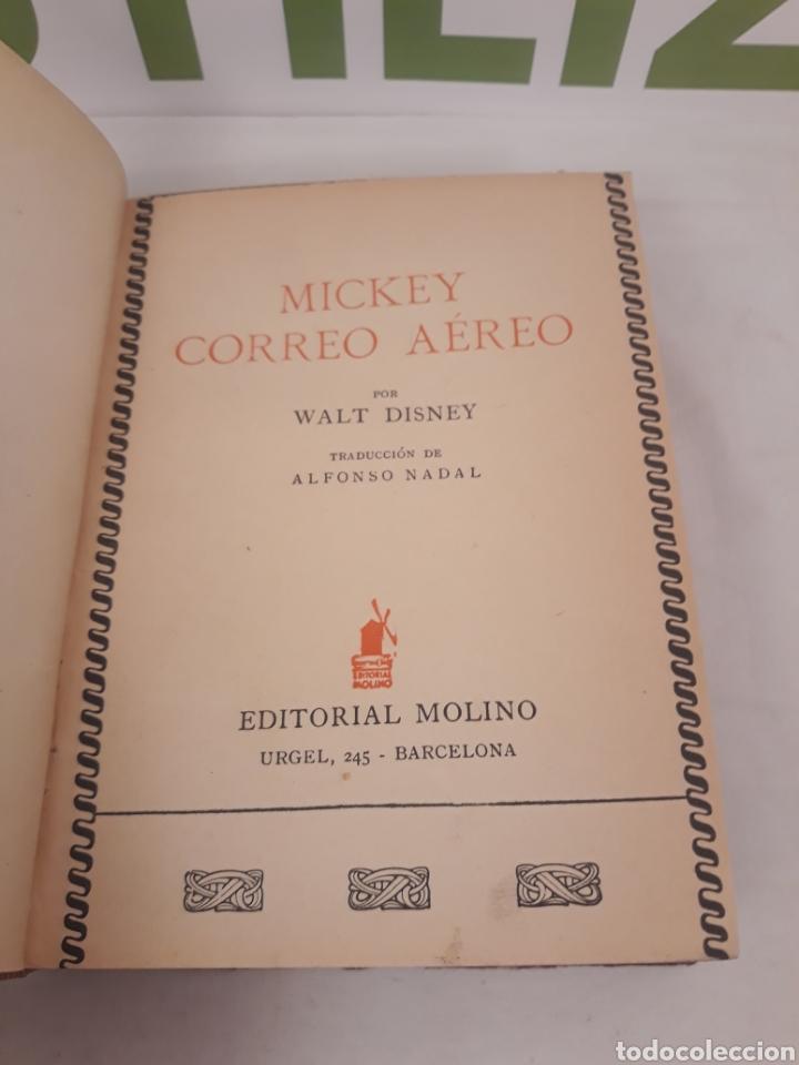 Tebeos: Mickey hace Camping/Mickey correo aereo.Primera edicion 1934. - Foto 6 - 166819405