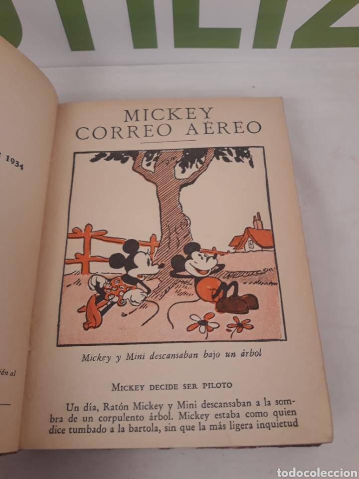 Tebeos: Mickey hace Camping/Mickey correo aereo.Primera edicion 1934. - Foto 7 - 166819405
