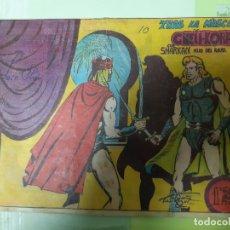 Tebeos: TEBEOS-COMICS CANDY - SHARKAN HIJO DEL RAYO - Nº 10 - ACROPOLIS 1962 - ORIGINAL * XX99. Lote 167305584