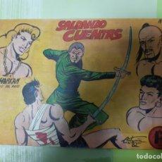 Tebeos: TEBEOS-COMICS CANDY - SHARKAN HIJO DEL RAYO - Nº 12 - ACROPOLIS 1962 - ORIGINAL * XX99. Lote 167306664