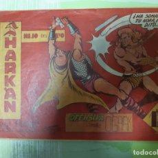 Tebeos: TEBEOS-COMICS CANDY - SHARKAN HIJO DEL RAYO - Nº 22 - ACROPOLIS 1962 - ORIGINAL *XX99. Lote 167307644