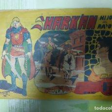 Tebeos: TEBEOS-COMICS CANDY - SHARKAN HIJO DEL RAYO - Nº 28 - ACROPOLIS 1962 - ORIGINAL * XX99. Lote 167308668