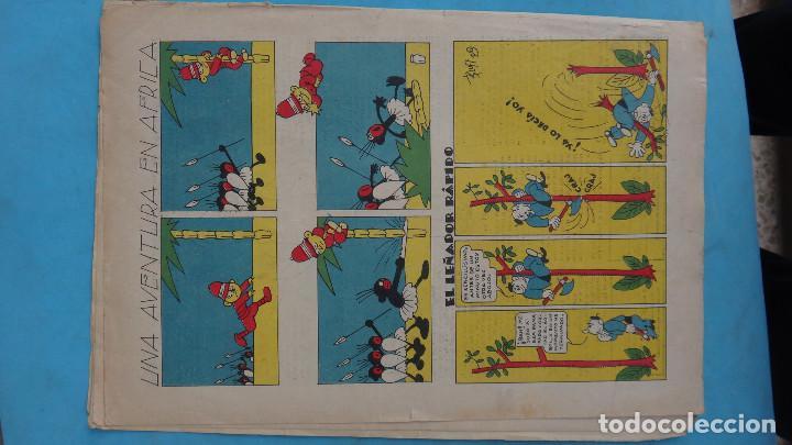 Tebeos: LOTE DE 12 MACACO ORIGINALES ANTIGUOS , AÑOS DE ORO, CON RECORTABLE , VER FOTOS ADICIONALES, CT1 - Foto 8 - 167816036