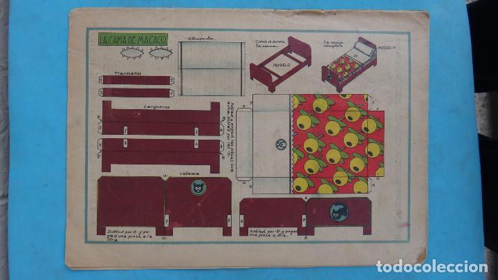 Tebeos: LOTE DE 12 MACACO ORIGINALES ANTIGUOS , AÑOS DE ORO, CON RECORTABLE , VER FOTOS ADICIONALES, CT1 - Foto 14 - 167816036