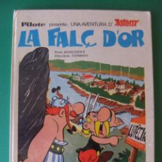 Tebeos: ASTERIX EN VALENCIANO LA FALC D'OR MAS-IVARS EDITORES 1978. Lote 168428492