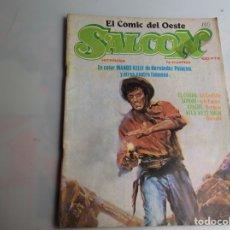 Tebeos: SALOON Nº 4 EL COMIC DEL OESTE -ED. HITPRESS AÑOS 80.. Lote 276619803