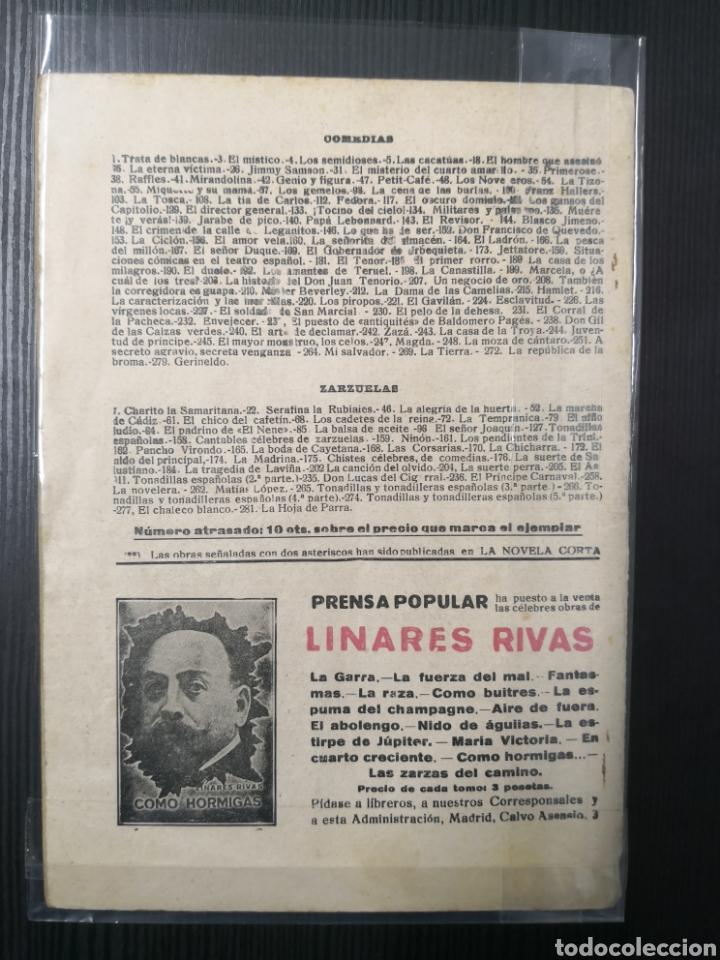 Tebeos: La Novela Corta de Álvaro Retena y Dibujo de Tovar. 1922. Una Noche de Carnaval en Niza - Foto 2 - 170992350