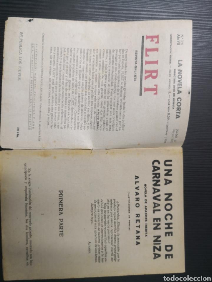 Tebeos: La Novela Corta de Álvaro Retena y Dibujo de Tovar. 1922. Una Noche de Carnaval en Niza - Foto 3 - 170992350