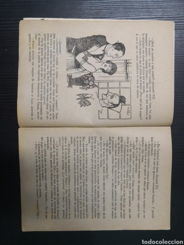 Tebeos: La Novela Corta de Álvaro Retena y Dibujo de Tovar. 1922. Una Noche de Carnaval en Niza - Foto 4 - 170992350