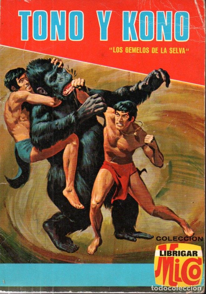 TONO Y KONO LOS GEMELOS DE LA SELVA Nº 28 (LIBRIGAR MICO FHER) (Tebeos y Comics - Tebeos Otras Editoriales Clásicas)