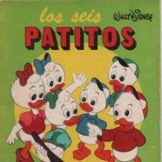 Tebeos: MINI CUENTO - LOS SEIS PATITOS - WALT DISNEY - EDICIONES SUSAETA - 1973. Lote 171248389