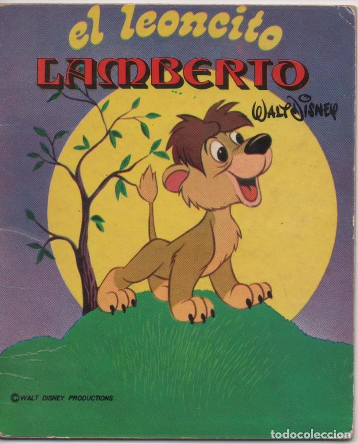 MINI CUENTO - EL LEONCITO LAMBERTO - WALT DISNEY - EDICIONES SUSAETA - 1973 (Tebeos y Comics - Tebeos Otras Editoriales Clásicas)