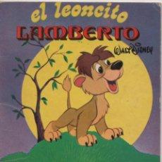 Tebeos: MINI CUENTO - EL LEONCITO LAMBERTO - WALT DISNEY - EDICIONES SUSAETA - 1973. Lote 171248455