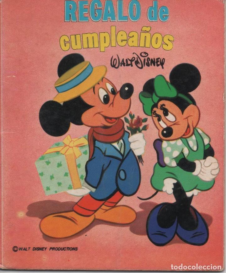 MINI CUENTO - REGALO DE CUMPLEAÑOS - WALT DISNEY - EDICIONES SUSAETA - 1973 (Tebeos y Comics - Tebeos Otras Editoriales Clásicas)