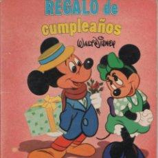 Tebeos: MINI CUENTO - REGALO DE CUMPLEAÑOS - WALT DISNEY - EDICIONES SUSAETA - 1973. Lote 171248510