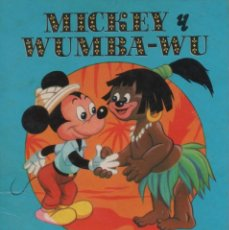 Tebeos: MINI CUENTO - MICKEY Y WUMBA-WU - WALT DISNEY - EDICIONES SUSAETA - 1973. Lote 171248620