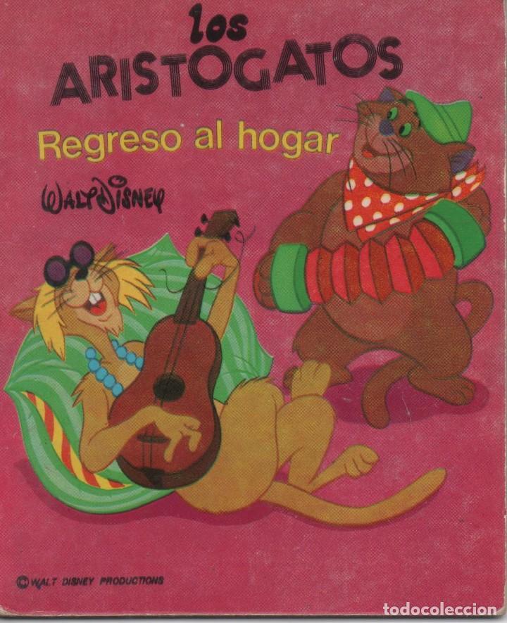 MINI CUENTO - LOS ARISTOGATOS. REGRESO AL HOGAR - WALT DISNEY - EDICIONES SUSAETA - 1973 (Tebeos y Comics - Tebeos Otras Editoriales Clásicas)