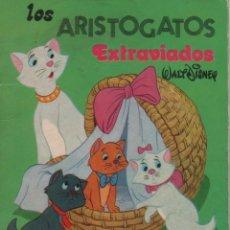 Tebeos: MINI CUENTO - LOS ARISTOGATOS. EXTRAVIADOS - WALT DISNEY - EDICIONES SUSAETA - 1973. Lote 171248838