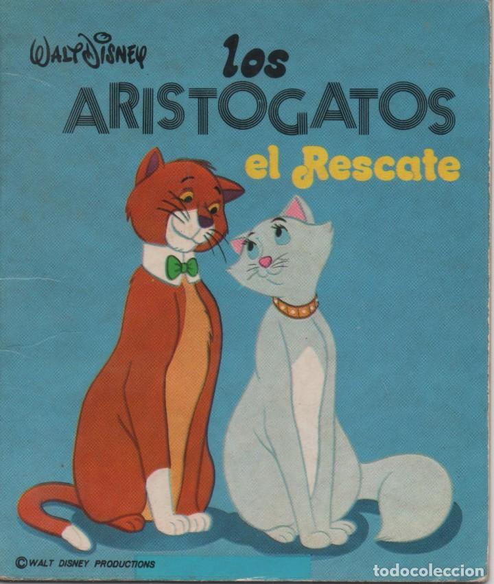 MINI CUENTO - LOS ARISTOGATOS. EL RESCATE - WALT DISNEY - EDICIONES SUSAETA - 1973 (Tebeos y Comics - Tebeos Otras Editoriales Clásicas)