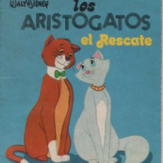 Tebeos: MINI CUENTO - LOS ARISTOGATOS. EL RESCATE - WALT DISNEY - EDICIONES SUSAETA - 1973. Lote 171248864