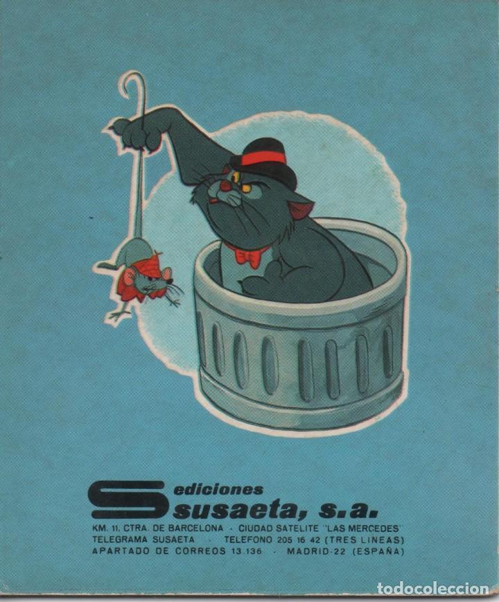 Tebeos: Mini Cuento - Los Aristogatos. El rescate - Walt Disney - Ediciones Susaeta - 1973 - Foto 2 - 171248864