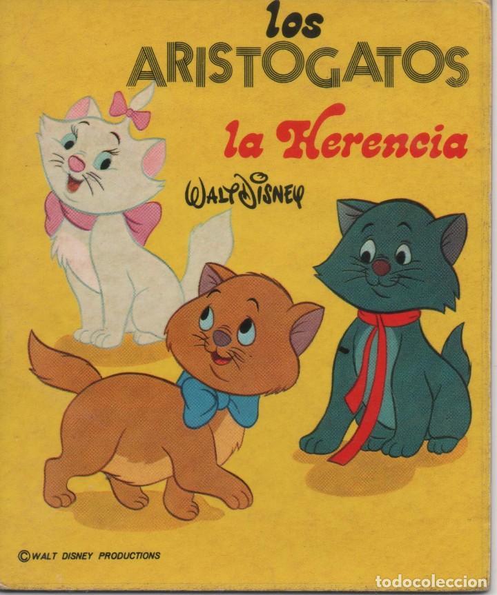 MINI CUENTO - LOS ARISTOGATOS. LA HERENCIA - WALT DISNEY - EDICIONES SUSAETA - 1973 (Tebeos y Comics - Tebeos Otras Editoriales Clásicas)