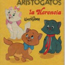Tebeos: MINI CUENTO - LOS ARISTOGATOS. LA HERENCIA - WALT DISNEY - EDICIONES SUSAETA - 1973. Lote 171248898