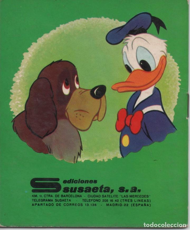 Tebeos: Mini Cuento - Donald y su perro guardian - Walt Disney - Ediciones Susaeta - 1973 - Foto 2 - 171248929