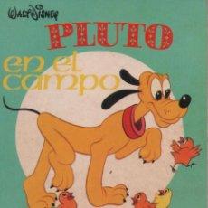 Tebeos: MINI CUENTO - PLUTO EN EL CAMPO - WALT DISNEY - EDICIONES SUSAETA - 1973. Lote 171248969