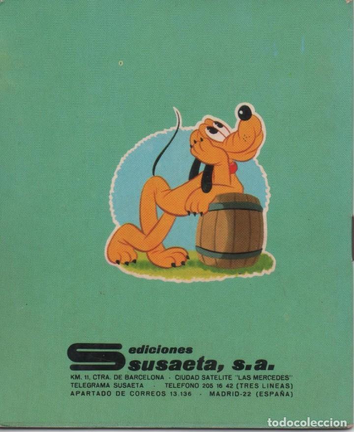 Tebeos: Mini Cuento - Pluto en el campo - Walt Disney - Ediciones Susaeta - 1973 - Foto 2 - 171248969
