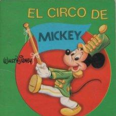 Tebeos: MINI CUENTO - EL CIRCO DE MICKEY - WALT DISNEY - EDICIONES SUSAETA - 1973. Lote 171249059
