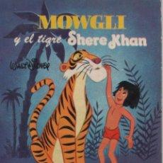 Tebeos: MINI CUENTO - MOWGLI Y EL TIGRE SHERE KHAN - WALT DISNEY - EDICIONES SUSAETA - 1973. Lote 171249180