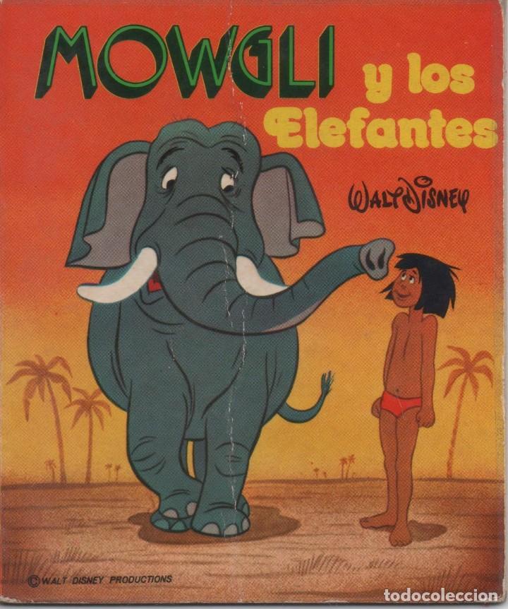MINI CUENTO - MOWGLI Y LOS ELEFANTES - WALT DISNEY - EDICIONES SUSAETA - 1973 (Tebeos y Comics - Tebeos Otras Editoriales Clásicas)