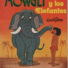 Tebeos: MINI CUENTO - MOWGLI Y LOS ELEFANTES - WALT DISNEY - EDICIONES SUSAETA - 1973. Lote 171249225